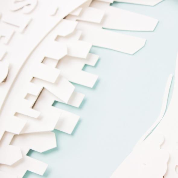 diseño editorial, diseño gráfico, paperart