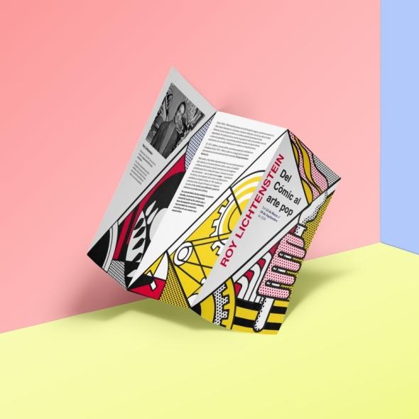 tríptico (diseño editorial, diseño gráfico)