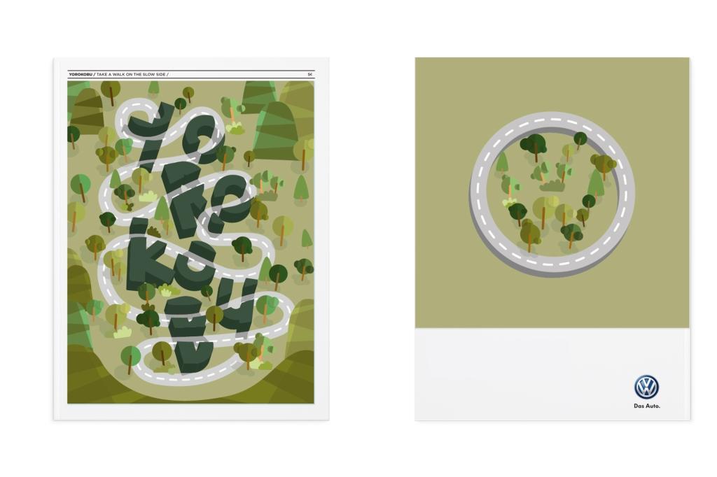 Portada y contra yorokobu, diseño gráfico e ilustración